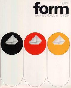 form N° 75. 1976. Cover: Hanswerner Klein. © Verlag form GmbH & Co. KG