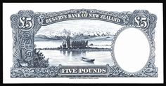 NewZealand - c1940 - 5 pounds - otherside