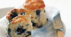 Added sweet bursts of blueberry and delicately flavoured with ginger for a gorgeous twist on the classic scone.