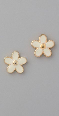 Marc by Marc Jacobs Daisy Stud Earrings $33.60 #sale #earrings #marcjacobs