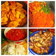 Cameroonian Poulet DG Recipe : DG Chicken of Cameroon - African foods recipes, African Cuisine of Cameroon