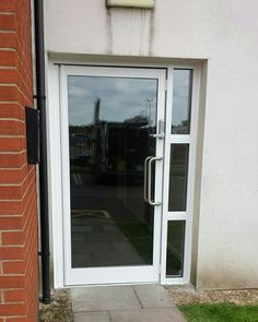 Before & after aluminium door replacement in Stoke Door Replacement, Aluminium Doors, Conservatory, Home Improvement, Construction, Windows, Aluminum Gates, Building, Greenhouses