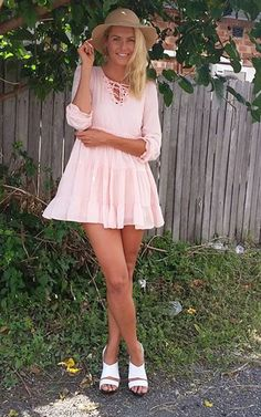Miss Molly dress in Pink by Toby Heart Ginger - LILY + MINX