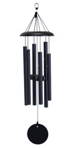 """Corinthian Bells 27-inch Windchime > Tuned to the scale of C. Overall length of chime is 27"""". Length of longest tube is 12 1/2""""."""