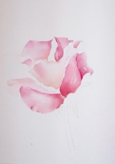 """Shanti Marie helps you be a better artist.""  ---  (that is the name of her blog)  Tutorials by this artist.   'Work in progress Pink Rose'  -----  http://freeartlessons.wordpress.com/"