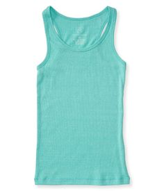 """Our Solid Ribbed Tank is made of soft, stretchy fabric for total comfort during all your playground adventures! Its solid hue promises effortless pairing with jeggings, chinos, sweats and shorts, so you'll always look super stylish no matter what you wear.<br><br>Tag free label.<br>Slim fit. Approx. length (10): 22""""<br>Style: 1868. Imported.<br><br>67% polyester, 28% cotton, 5% spandex.<br>Machine wash/dry."""