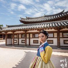 Korean traditional clothes.[한복] #hanbok #bettlhanbok #korean #경주 #한국 #한복체험…