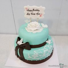 Beautiful Girls Birthday Cake Images With Name