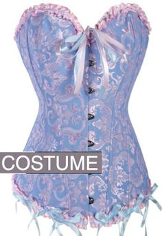 The Violet Vixen - Cotton Candilicious Violet Corset, $54.99 (http://thevioletvixen.com/corsets/cotton-candilicious-violet-corset/)