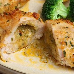 This stuffed chicken breast recipe is easy to make and will melt in your mouth.. Chicken Breast Stuffed with Pepper Jack Cheese and Garlic Recipe from Grandmothers Kitchen.