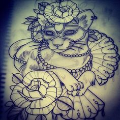The tattoo sketches of Emily Rose Murray. | RGB-Love