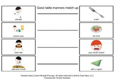 16 Best Table Manners For Kids Images Manners For Kids Dining