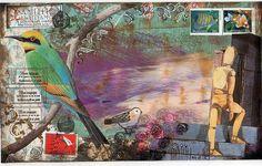 Danielle Maret - Mail Art Envelope