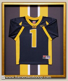 shadow box jersey frame - Google Search