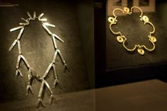 Jewelry by US artist Alexander Calder from the Metropolitan Museum of Art in New York, USA