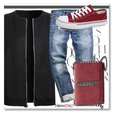 """""""LoveNewchic"""" by k-lole ❤ liked on Polyvore featuring Rika"""