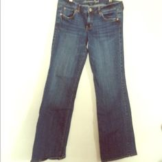 ✨X-LONG✨ AE jeans Extra long, for extra tall women. Very gently worn. Favorite Boyfriend American Eagle Outfitters Jeans