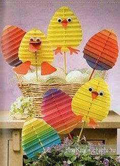 Full of ideas to do activities around easter with children. DIY easter Full of ideas … Bunny Crafts, Easter Art, Easter Projects, Easter Crafts For Kids, Easter Eggs, Easter Activities, Preschool Crafts, Diy And Crafts, Paper Crafts