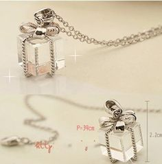 Cheap chain parts, Buy Quality chain motor directly from China chain bolts Suppliers: hot sale necklaces pendants Wholesale Korean Jewelry Gift Box Crystal Bow Necklace Sweater Chain Free Bow Necklace, Long Chain Necklace, Crystal Necklace, Colar Fashion, Fashion Necklace, Fashion Jewelry, Sweater Fashion, Pretty Necklaces, Beautiful Necklaces