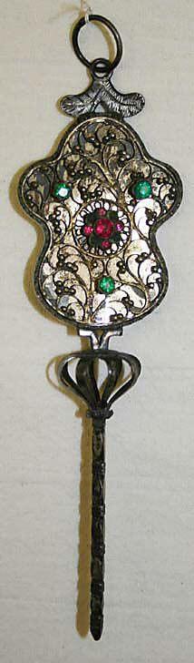 Hair accessory Austrian ca. 19th Century