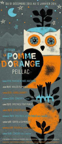 Affiche - Pomme d'Orange 2013 - Peillac