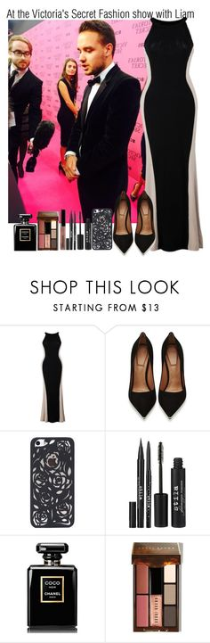 """""""At the Victoria's Secret Fashion show with Liam"""" by elise-22 ❤ liked on Polyvore featuring Givenchy, Stila, Chanel and Bobbi Brown Cosmetics"""