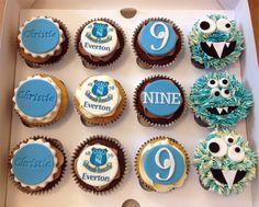 Everton EFC Cupcakes