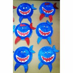 paper-plate-shark-craft-ideas  |   Crafts and Worksheets for Preschool,Toddler and Kindergarten