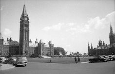 Parliament Hill 1952 Cheap Lipstick, Photo Archive, Ottawa, Empire State Building, New York Skyline, Photos, Travel, Image, Pictures