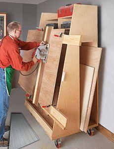 Workshop Wood Storage Plans
