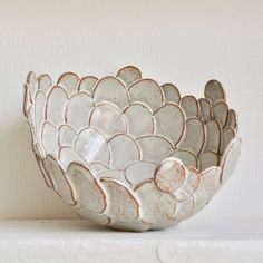 Most recent Totally Free soft Slab pottery Suggestions Milky Canvas – Scallop Bowl. Pottery Plates, Slab Pottery, Pottery Mugs, Ceramic Pottery, Pottery Art, Ceramic Bowls, Ceramic Art, Slab Ceramics, Pottery Handbuilding