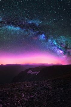 Milky Way over the Rockies, Jesse Summers