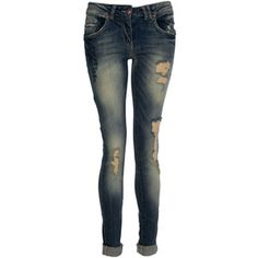 Crafted Slim Fit Cross Detail Jeans