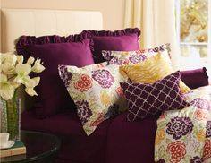 I pinned this from the Image by Charlie - Preppy & Posh Pillows, Poufs & Bedding event at Joss and Main!