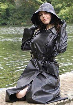 Cheap Black Rain Jacket Women S Product Black Rain Jacket, Rain Jacket Women, H&m Raincoat, Plastic Raincoat, Black Mac, Rubber Raincoats, Rain Gear, Weather Wear, Raincoats For Women