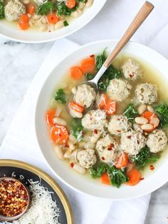 Kale and Turkey Meatball Soup | 24 Healthy And Delicious Things You Can Make In A Slow Cooker
