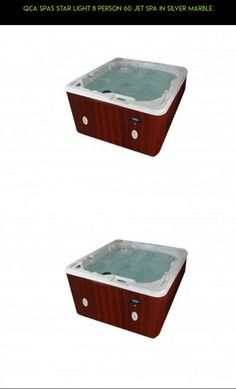 QCA Spas Star Light 8 Person 60 Jet Spa in Silver Marble #camera #gadgets #kit #person #tech #drone #products #hot #shopping #fpv #tubs #racing #technology #parts #plans #8