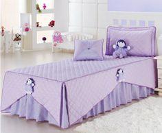 Přehoz do dětského pokoje * fialový damašek, velmi pěkné ♥