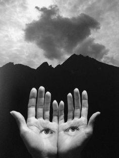 Jerry Uelsmann - Homage to Herbert Bayer, 2004