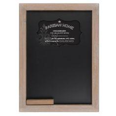 "Parisian Home Old School House Style Wooden Framed Chalkboard (9.5""x13"") Parisian Home,http://www.amazon.com/dp/B00H2220AC/ref=cm_sw_r_pi_dp_lgdstb1JNSCWNCYB"