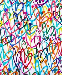 james goldcrown for Toms Graffiti Art, Heart Graffiti, Frise Art, Tableau Pop Art, Photo Wall Collage, Heart Collage, Diy Art, Art Projects, Canvas Art