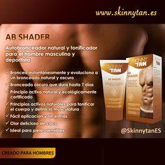 Cuerpo bronceado y bien definido con AB-Shader de #SkinnyTan. Descubre más: http://www.skinnytan.es/productos.php?id=27 …     #OperaciónSkinny ¡luce sexy todo el año!