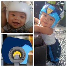 Painting Cranial Helmet Step Sand Helmet Homedepot Step - Baby helmet decalsbaby helmets lee pinterest creative baby helmet and babies