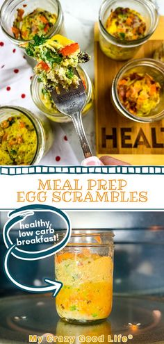 These DIY Just Crack an Egg Cups are a homemade version of the store bought cups. The nutrition is better than store bought and they're just pennies to make! Perfect for meal prep–make a bunch of them, freeze, then crack an egg into the ingredients and microwave for a quick breakfast! Egg Recipes, Dinner Recipes, Veggie Egg Scramble, Beachbody Meal Plan, Homemade Turkey Sausage, Healthy Breakfast Recipes, Healthy Recipes, Copycat Recipes, Safe Food