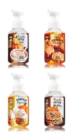 Bath & Body Works Pumpkin Cafe Hand Soaps for Fall 2014