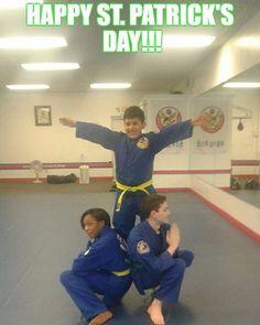 It's #FlyingFriday AND St. Patrick's Day! How lucky is that??? ;D  #martialarts #lifestyle #selfimprovement #education #mixedmartialarts #karate #judo #martialartstricking #taekwondo #tkd #juijitsu #bjj #martialartslife #fitness #gymlife #workout #kids #training #selfdefense #goals #ninja #kids #teens #adults #march