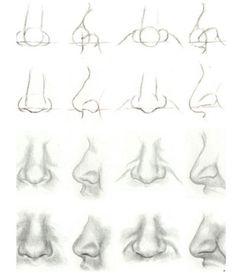 Comment dessiner le nez 3758    comment dessiner