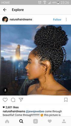 35 Trendiest African American Hairstyles in 2018 black hairstyles 2017 Natural Hair Bun Styles, Curly Hair Styles, Natural Hair Inspiration, Mode Inspiration, Twisted Hair, Pelo Afro, Pelo Natural, 4a Natural Hair, Girl Hairstyles