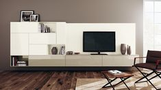 Stylish living room composition for those who love minimalism