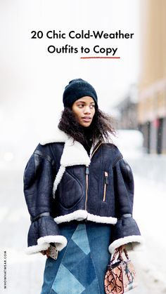 Cold-weather outfits that will make you glad it's winter